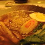 Shoyu ramen before