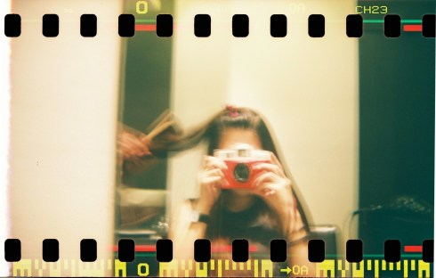 Shot with Holga 120CFN Jack Edition with Fuji Superia 400
